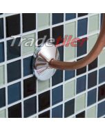 10mm Pipe Collar - Chrome 10 Pack