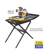 DeWalt D24000 Wet Saw / Electric Tile Cutter - Inc Stand (select voltage)
