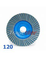 Montolit Fleximont GM Diamond Grinding Flap Wheel - 120 Grit