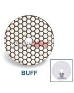 Rubi Diamond Dry Polishing Pad - Buff - White