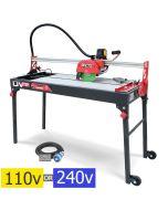 Rubi DV-200 1000 Wet Bridge Saw / Electric Tile Cutter (select voltage)