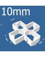 10mm Cross Tile Spacers - bag 500