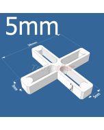 5mm Cross Tile Spacers - bag 1000