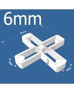 6mm Cross Tile Spacers - bag 500