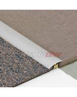 Dural Clipper 2000 - Tile To Carpet Aluminium Door Bar / Trim - SILVER 900mm