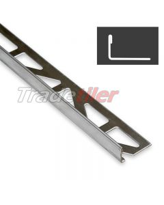 10mm Straight Edge Stainless Steel Tile Trim