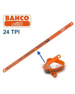 Hacksaw Blade - Full Size - (24 TPI Bahco Sandflex)