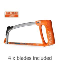 Hacksaw - Full Size - (Bahco 317) + 4 blades