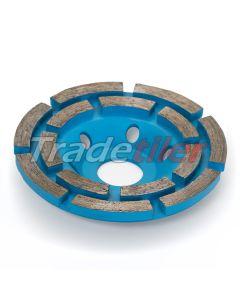 Cupped Diamond Wheel / Blade (100mm dia - 22.2mm bore)