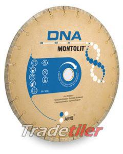 Montolit DNA 180 mm Diamond Wheel (22.2/25.4 mm bore)