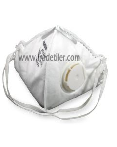 Professional valved dust mask