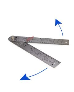 Easy Angle Finder Ruler