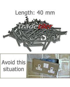 Long Electric Socket Screws 40mm - Qty 100