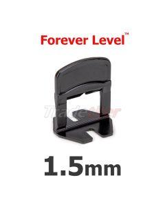 Forever Level 1.5mm Tile Levelling Clips - bag 100