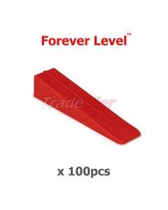 Forever Level Tile Levelling Wedges x 100