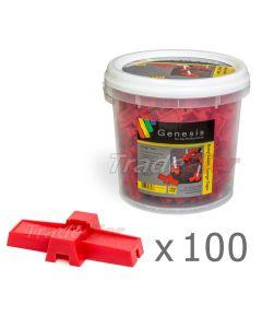 Genesis Easy Level - Large Caps x 100