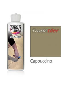 Universeal Grout Rescue - Colour & 237ml Seal Cappuccino