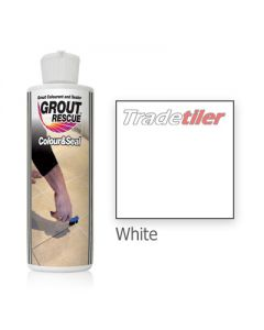 Universeal Grout Rescue - Colour & Seal 237ml White
