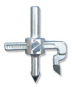 Adjustable Hole Cutter (glazed ceramic tile use only)