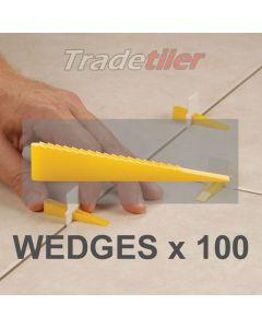 LASH Tile Levelling wedges - (bag of 100)