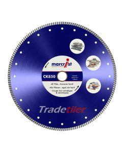 Marcrist CK850 350 mm Diamond Wheel (25.4 mm bore)