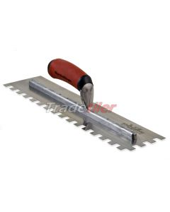 Marshalltown Extra Long 13 x 13mm Notched Trowel - Durasoft Handle