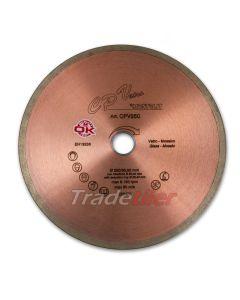 Montolit CPV Glass 250mm Diamond Wheel / Blade (25.4/30.0mm bore)