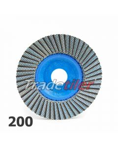 Montolit Fleximont GF Diamond Grinding Flap Wheel - 200 Grit