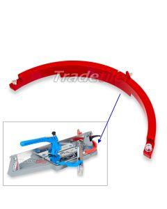 Montolit Red Semicircle Radius Ring (MasterPiuma)