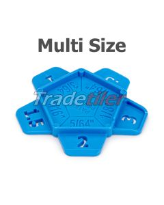 Multi Size Tile Spacers - bag 200