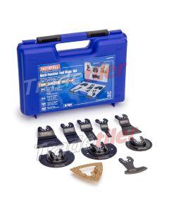 Faithfull Multi Tool 10 Piece Blade Set (Fits Bosch GOP, Fein MultiMaster)