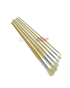 Round Fitch Paint Brush Set of 6