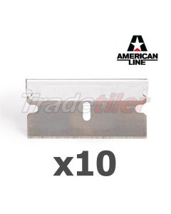 Replacement Razor Scraper Blades x 10