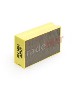 Rubi Diamond Hand Polishing Pad - 400 Grit - Yellow