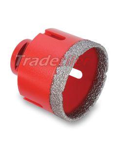 Rubi Dry Gres M14 Diamond Tile Drill Core 75mm