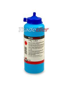 Rubi Jumbo Chalk Refill 1 kg BRIGHT BLUE