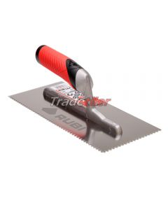 Rubi Stainless Steel 3 x 3mm Notched Trowel