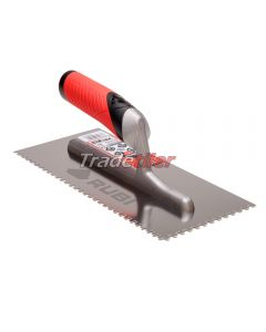 Rubi Stainless Steel 4.5 x 4.5mm Notched Trowel