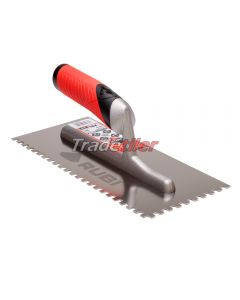 Rubi Stainless Steel 6 x 6mm Notched Trowel