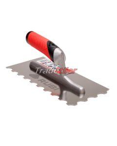 Rubi Stainless Steel U Notched Trowel