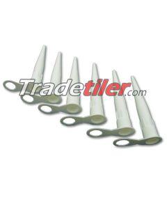 Silicone Nozzles x 6 (standard type)
