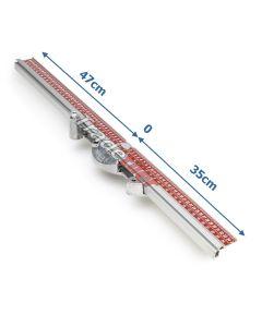 Sigma Measure Bar Ruler for 3 Series 47cm-0-35cm. (ART: 90LB)
