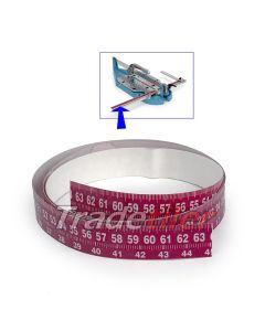 Sigma Replacement Self Adhesive Measurement Tape