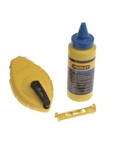 Stanley Chalk Line (with line level)