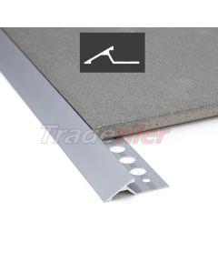 Genesis Aluminium Transition Ramp Trim 0 - 10mm - Silver