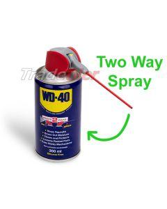 WD40 Aerosol With 2 Way Spray - 300ml