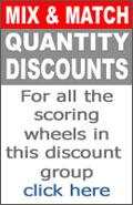 scoring wheels